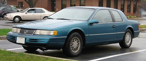 1991 Mercury Cougar - Used Cars Under 1000 Dollars, Houston Texas