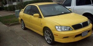 Best Used Cars Under 3000 on Craigslist Houston - 2003 Mitsubishi Lancer