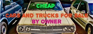 cheap used cars and trucks for sale by owner