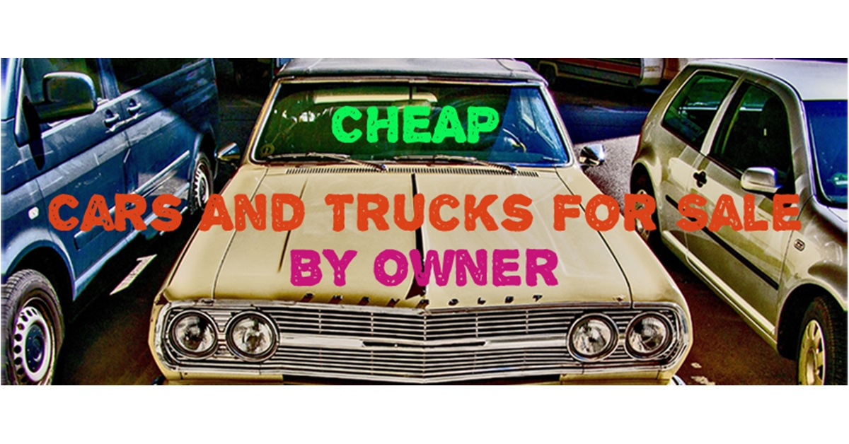 Cars and Trucks For Sale by Owner - PORT USED CARS
